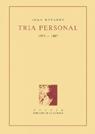 13. Tria personal (1973-1987)