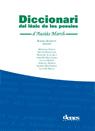 Diccionari del l'èxic de les poesies d'Ausiàs March